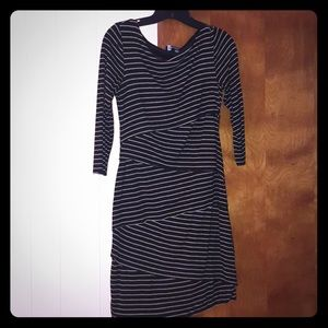 AB studio dress, 3/4 sleeve size small